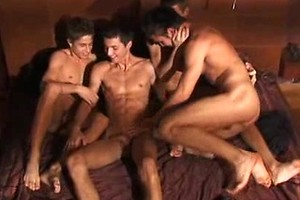 Four horny twinks Jack Harrer, Dario Dolce, Gaelan Binoche and MarcoBill fuck